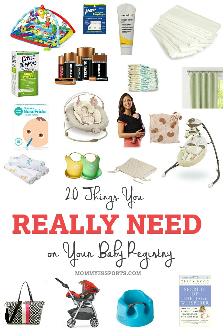 20 Things You REALLY Need on Your Baby Registry  Kristen Hewitt