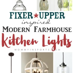 Farmhouse Kitchen Lighting Fixtures Large Appliances Fixer Upper Inspired Modern Lights Kristen Hewitt Looking For A Light Check Out This List Of