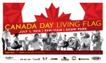 canada day living flag 2016 poster final