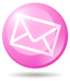small pink email