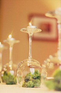 Wine Glass Centerpiece | Kristen lunceford
