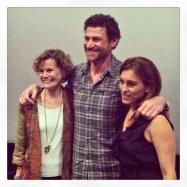 Judy Blume, Lawrence Blume, and Amy Jo Johnson at the 'Tiger Eyes' opening night screening