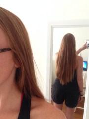 haircut chop kristen