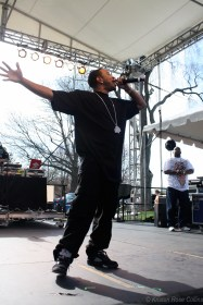 Ludacris at Tufts University, photographed for the Tufts Daily