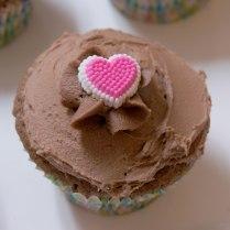 Valentine Heart Cupcake