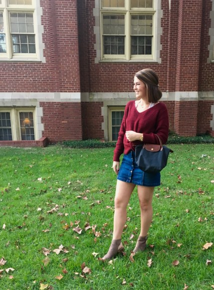 3 Ways to Style a Sweater for Fall - Dressed Up