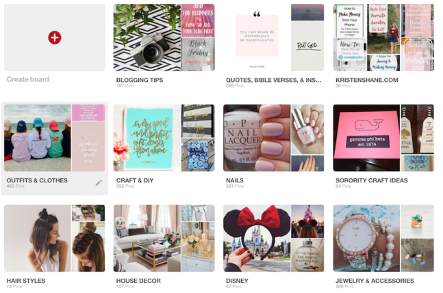 Pinterest Strategy - board title, photos, and descriptions optimization