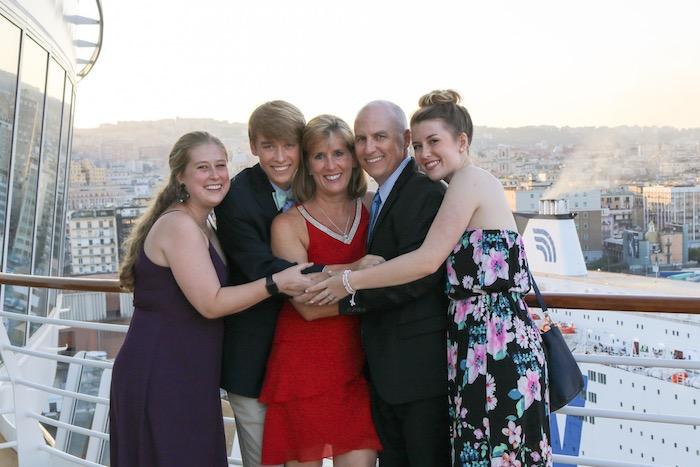 Kristen Shane Europe family 2