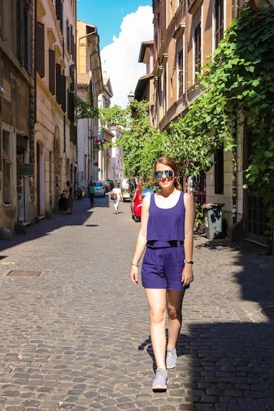Kristen Shane Europe streets of Rome