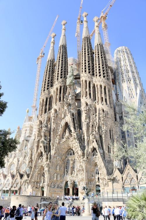 Kristen Shane Europe Sagrada Familia