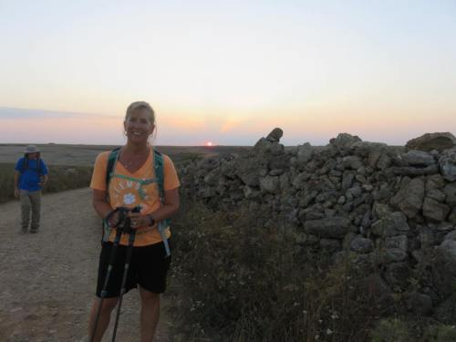 Camino Experience Kristen Shane 9 sunrise