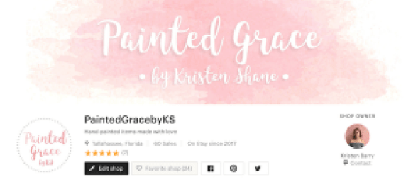 PaintedGracebyKS store on Etsy