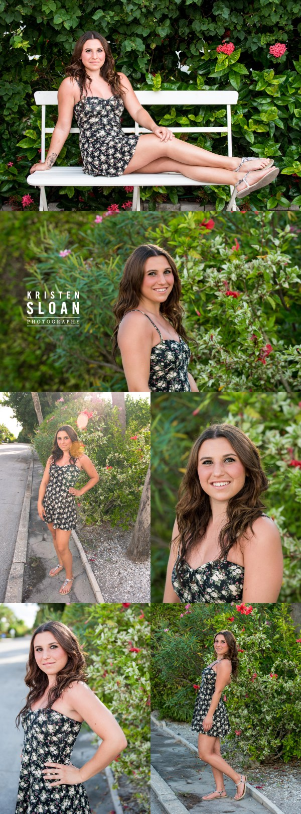 Pass A Grille St Pete Beach Senior Portrait Photos by Kristen Sloan Photography