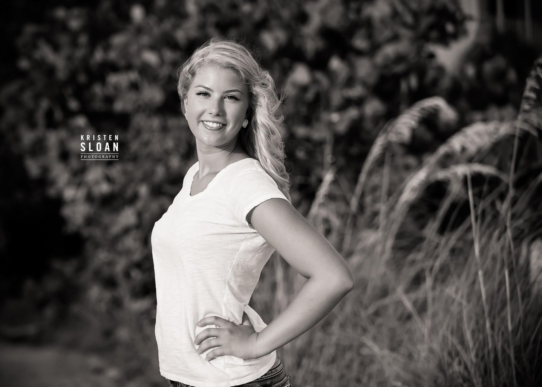 TradeWinds Resort St Pete Beach FL High School Senior Portraits by Photographer Kristen Sloan