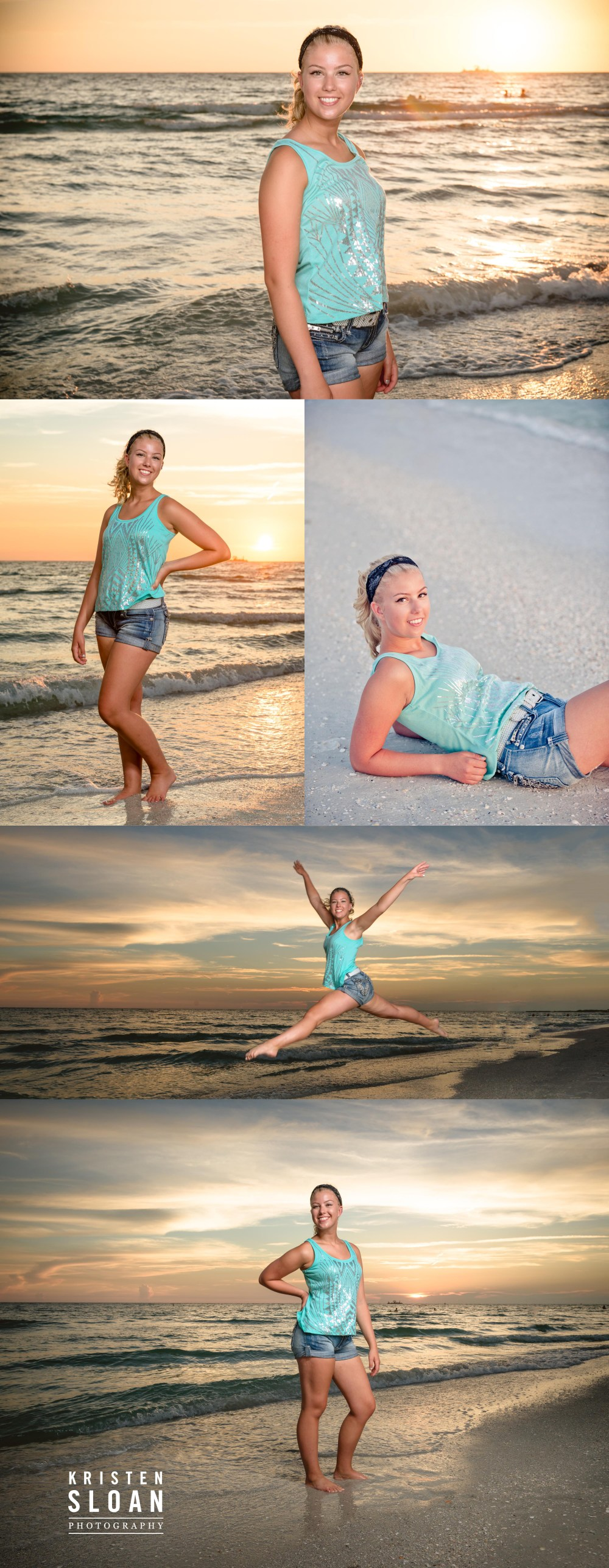 TradeWinds Resort St Pete Beach FL Senior Portrait Photos by Photographer Kristen Sloan