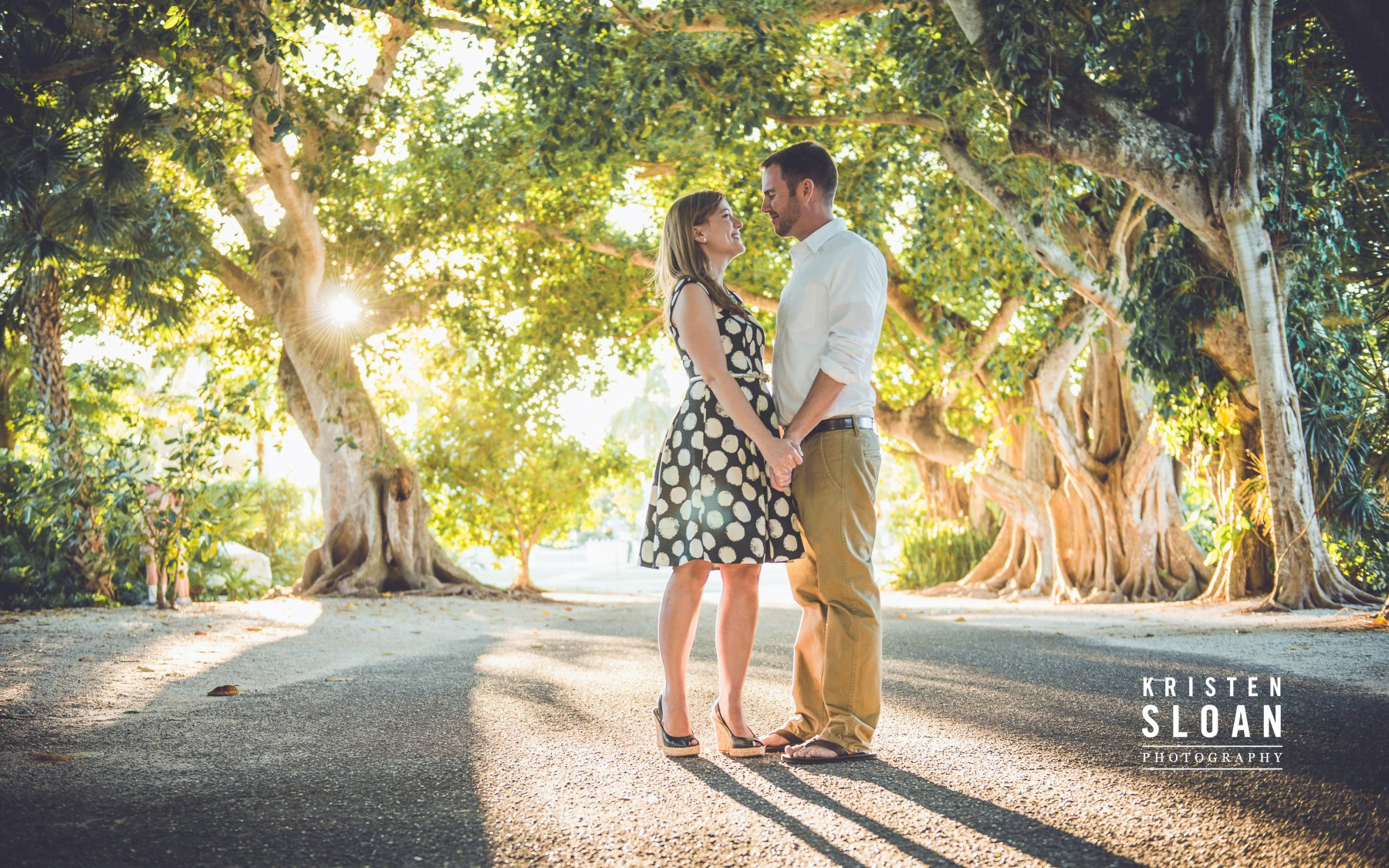 Boca Grande Banyan Street Wedding by St Pete FL Photographer Kristen Sloan