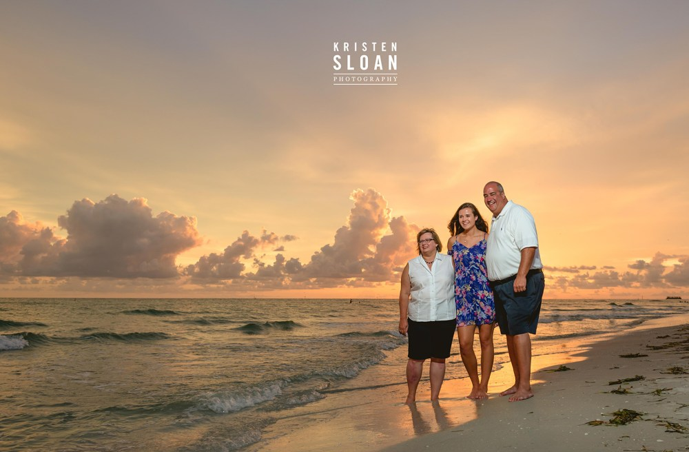 Senior Portrait Photos St Pete Beach Treasure Island FL | St Pete Beach Wedding Portrait Photographer Kristen Sloan | Treasure Island Wedding Portrait Photographer