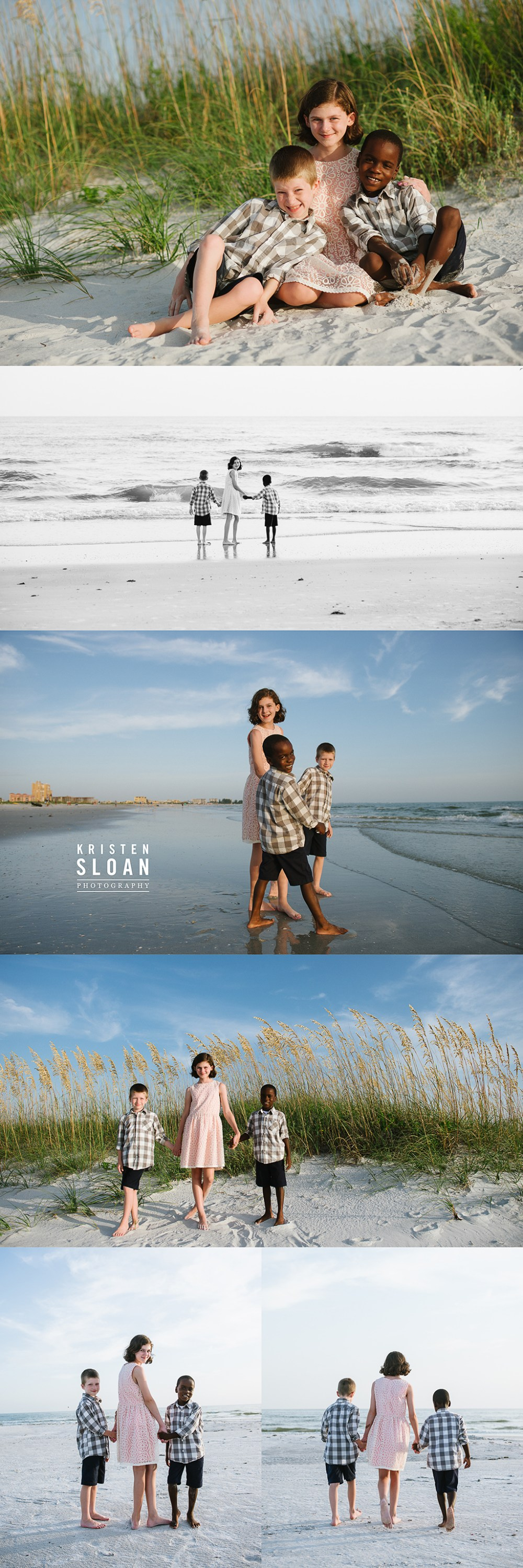 St Pete Beach FL Family Portrait Photos By Kristen Sloan Photography