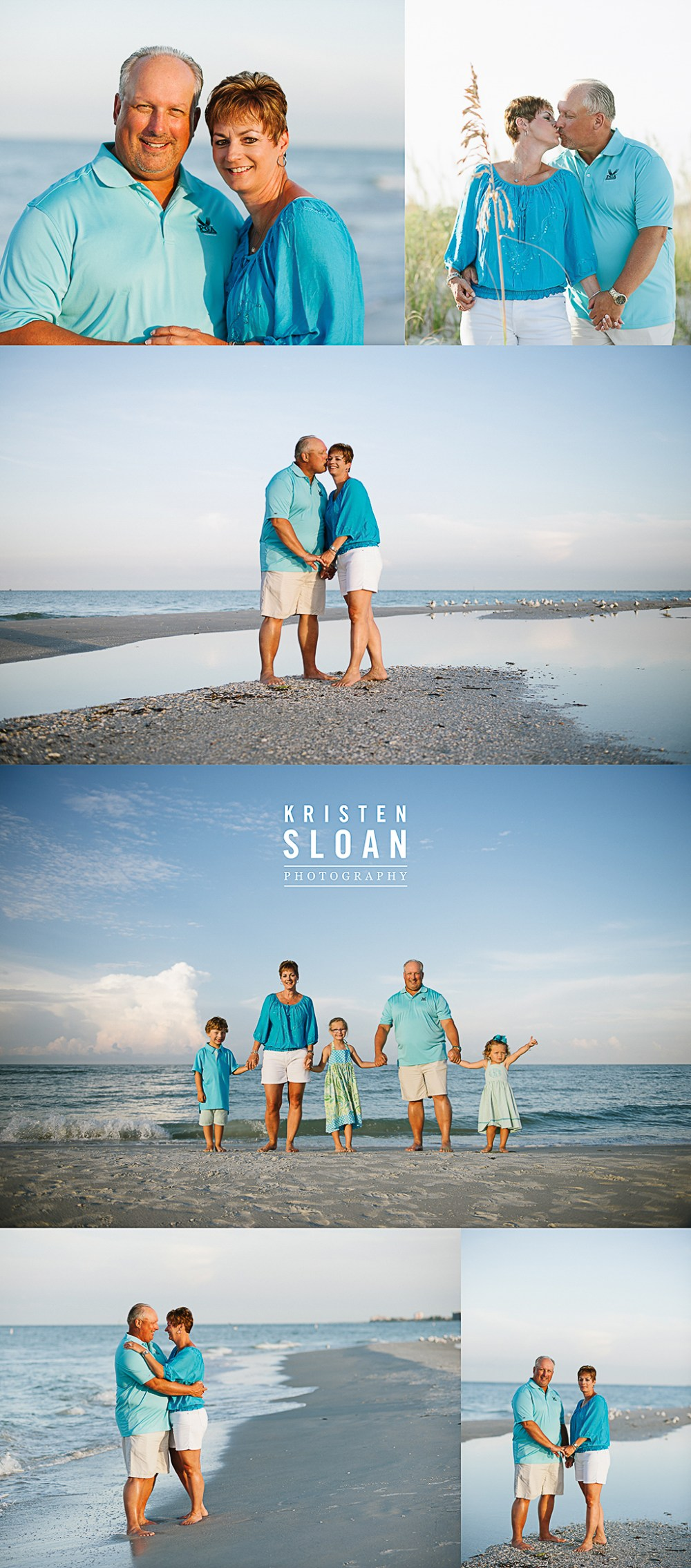 Sunset Vistas Treasure Island Morning Family Kids Couples Beach Portraits