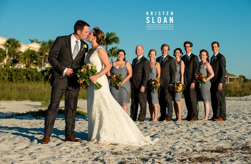 Boca Grande Club Gasparilla Island Florida Wedding | Sarasota FL Wedding Photographer | St Pete Beach Weddings | Beach Wedding Decor
