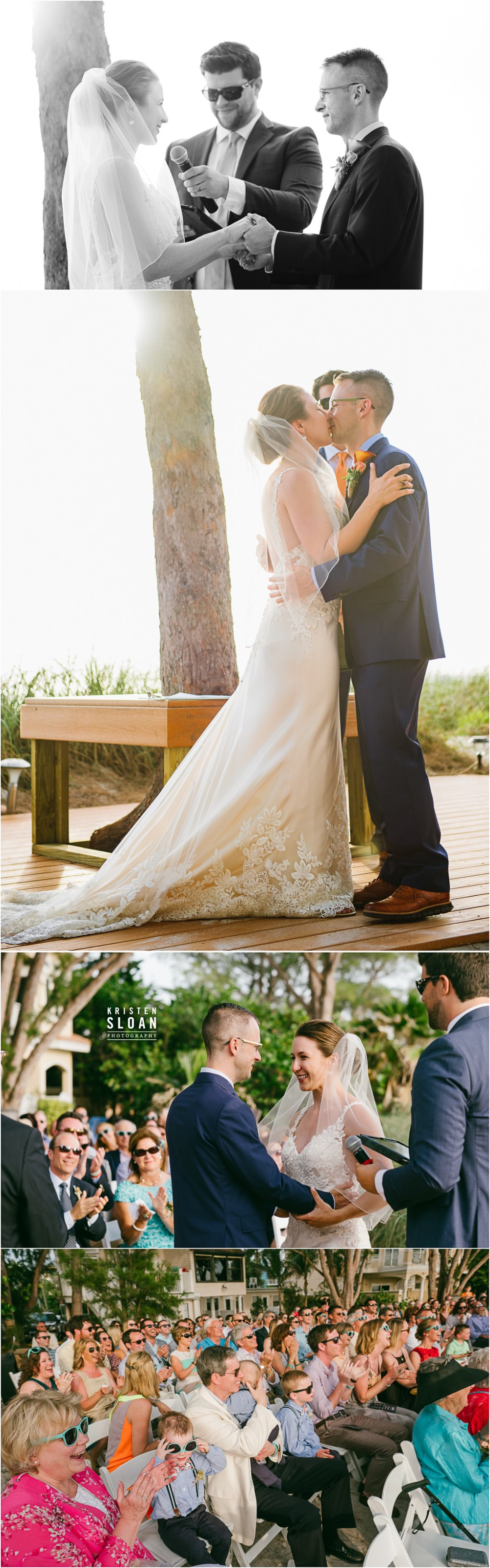 Treasure Island Beach Wedding