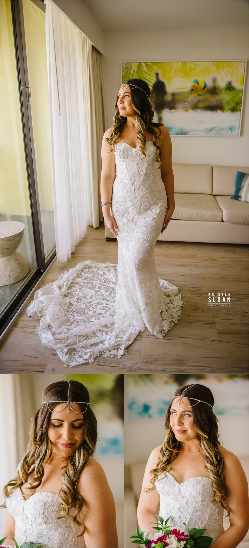 Sirata St Pete Beach Wedding Bridal Portraits