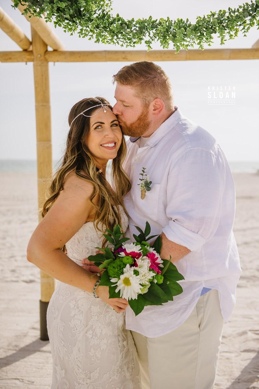 Sirata St Pete Beach Wedding Bride Groom