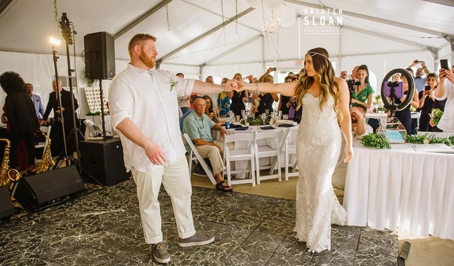 Sirata St Pete Beach Wedding First Dance