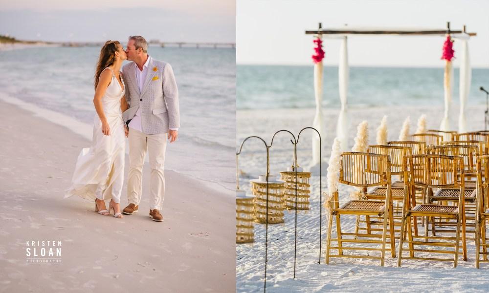 Fort De Soto Florida Beach Wedding
