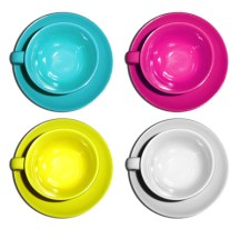 CMYK Coffee Cups