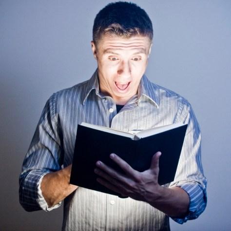 reading book surprise suspense plot twist