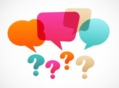 story question speech bubble