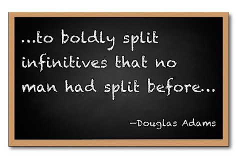 split infinitives