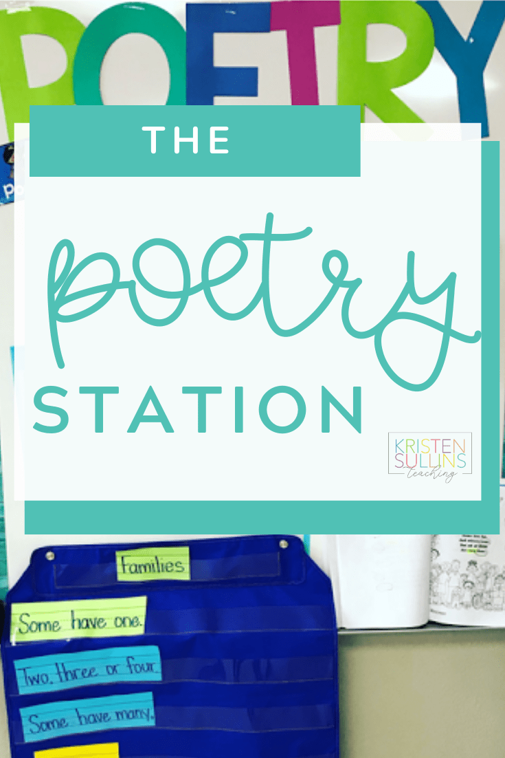 First Grade Poetry Station
