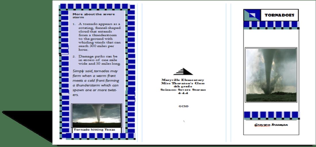 Student #2 Brochure Kristen Danielle ThorntonM Ed Instructional