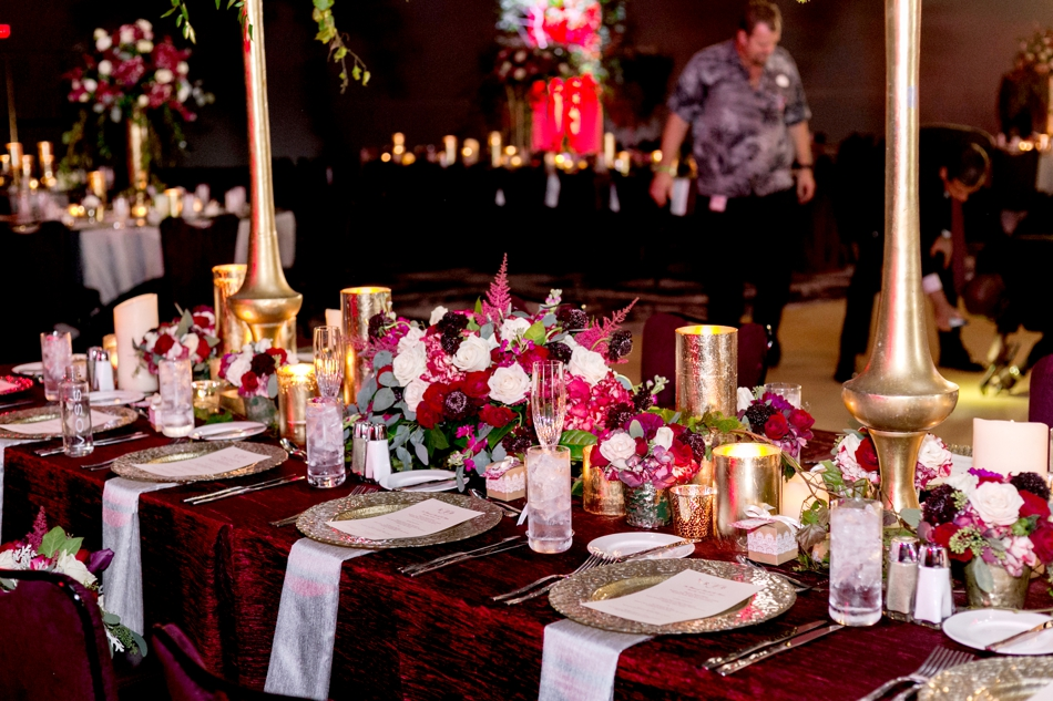 Modern Burgundy Wedding At Sapphire Falls Resort Orlando