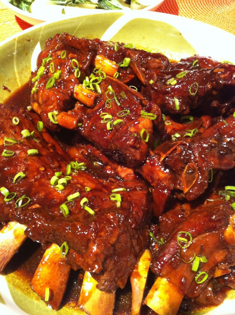 Hawaiian BBQ Pork Spare Ribs in 40 minutes  Kris the Foodie