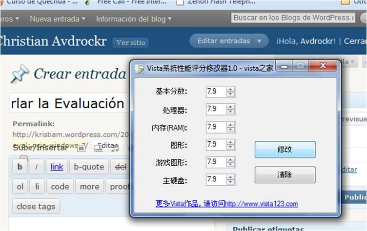 Burlar la Evaluación de Experiencia - Windows 7 (2/3)