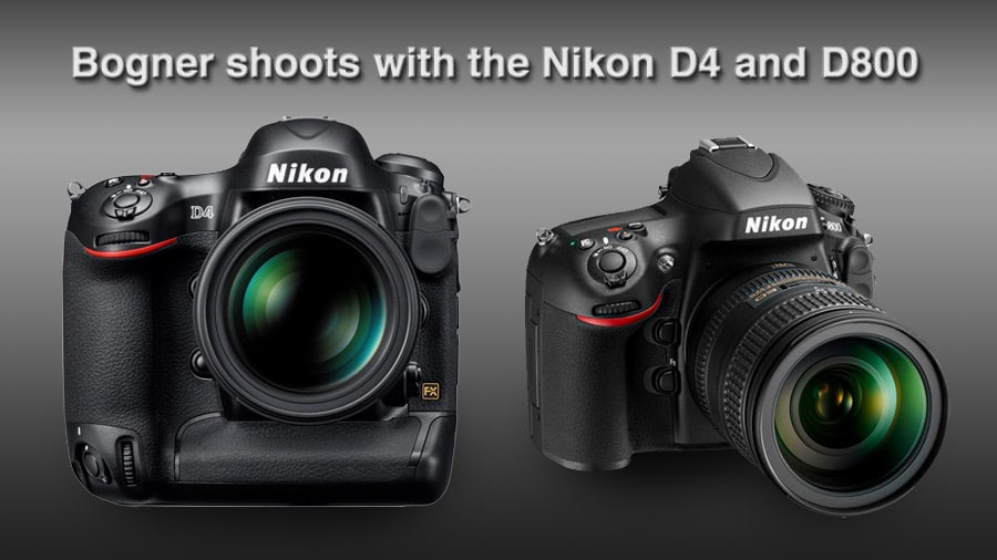 Shooting the NEW Nikon D4 and D800!! | Kristian Bogner Photography