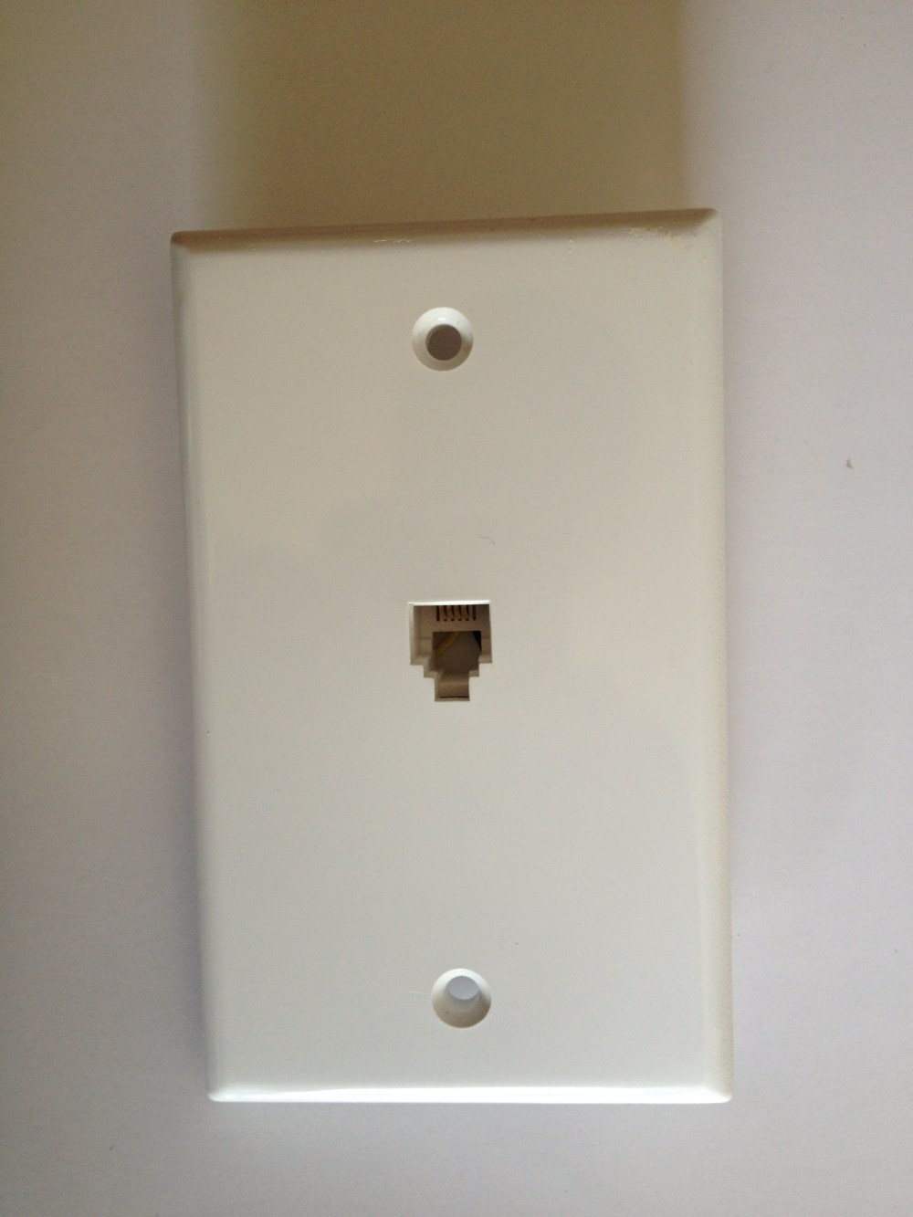 medium resolution of once removed from the wall you ll see which twisted pair of copper wire are connected to the jack of the wall plate there are two standards of wiring