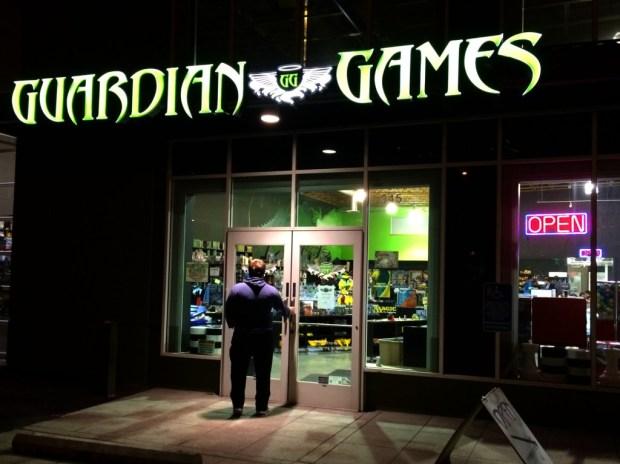 guardian games entrance