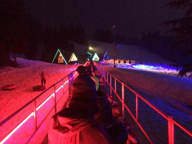 cosmic sledding conveyor