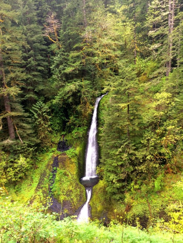 eagle creek waterfall