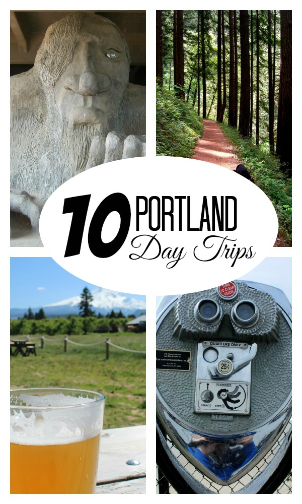 10 Portland Day Trips Where to go if you don't have the time or money to travel