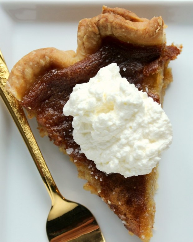 Salted Honey Pie Slice