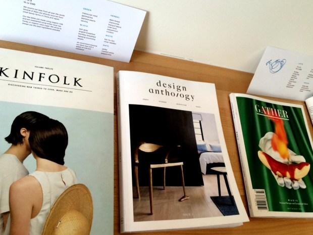 Tea Bar Magazines