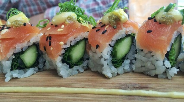 Departure Smoked Salmon Roll