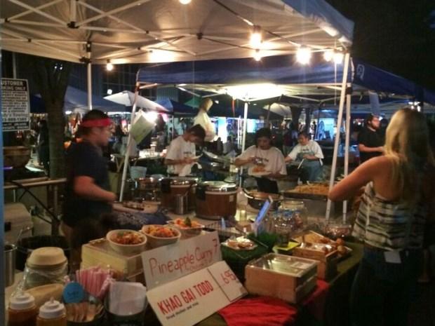 Jade market food