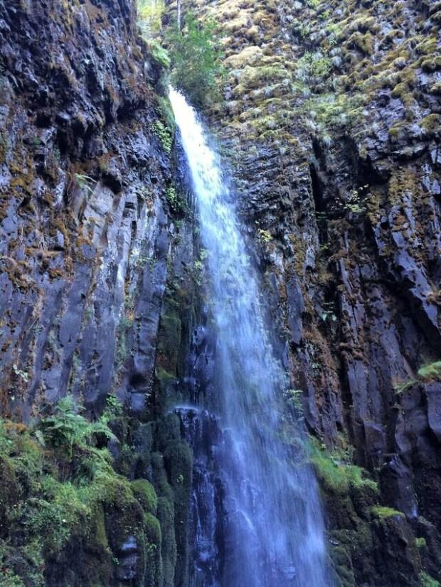 Dry Creek Falls Close Up