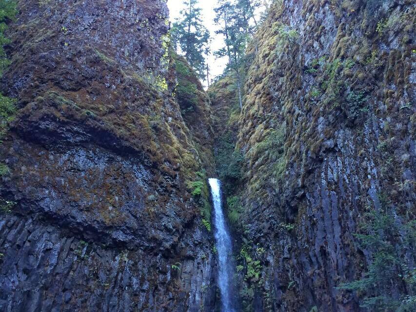 Dry Creek Falls top